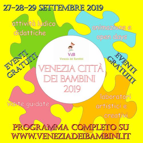 Venezia Città dei Bambini 2019
