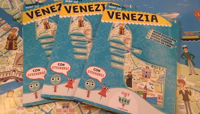 Cartina Venezia Mestre.La Mappa Di Venezia A Misura Di Bambino Di Italyforkids