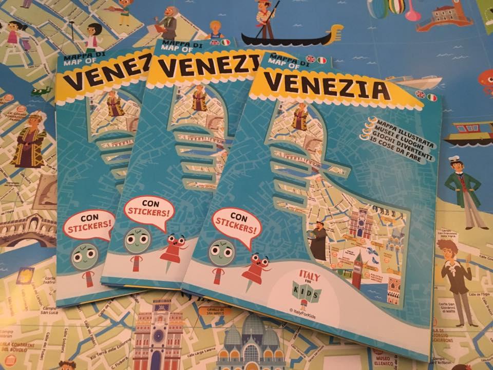 Cartina Italia Javascript.La Mappa Di Venezia A Misura Di Bambino Di Italyforkids