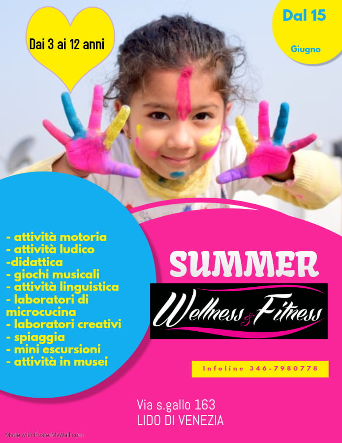 Summer Camp Wellness and Fitness